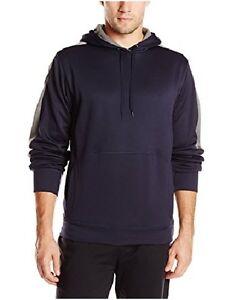 Champion Men/'s Pullover Fleece Hoodie Jacket 2X Retail $50 Red//Black