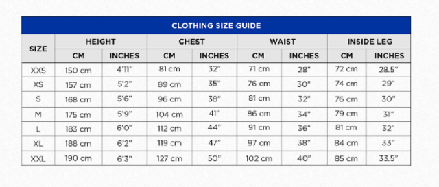 Other Motorcycle Clothing Burke Dry 28 Super Dry Rain Jacket Sailing Wet Weather Jacket Blue Dw10 Fabric Vehicle Parts Accessories Convert from centimetres to inches. other motorcycle clothing burke dry 28