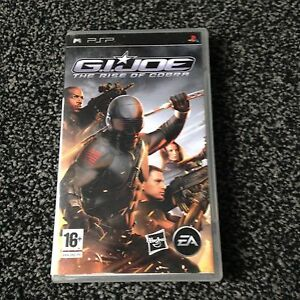G.I. JOE  THE RISE OF COBRA  Com. PSP  VGC