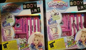 2 Packs New Whimsical By Wengie Body Art Glitter Tattoos Markers Jewels Unicorn 653899035273 Ebay