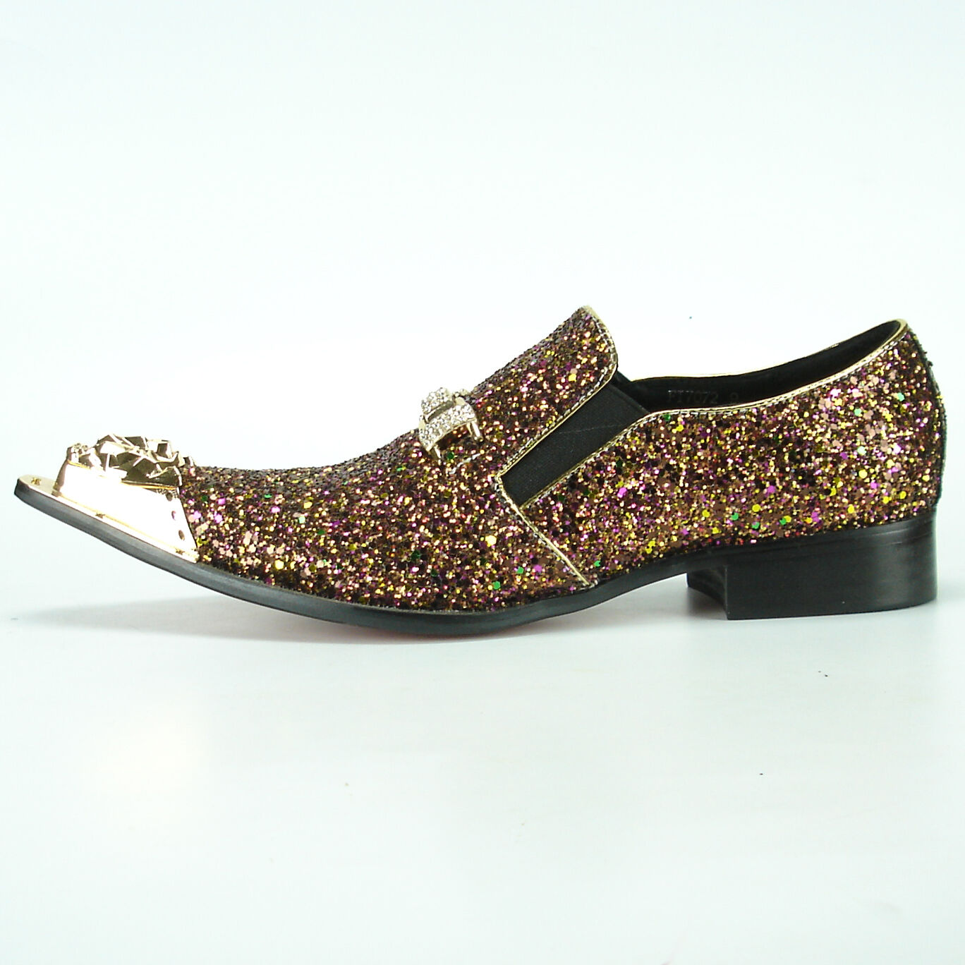 FI-7072 Rosa Glitter with Gold Gold Gold Ornament and Metal Tip Fiesso by Aurelio Garcia c5d1c0