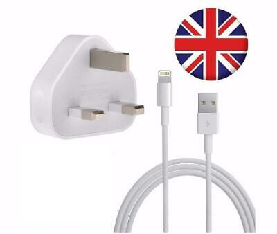 100% Genuine CE Charger Plug & USB Sync Cable for Apple iPad iPhone 5 S 6 7 X | eBay