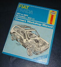 1984-1988 FIAT PANDA HAYNES WORKSHOP MANUAL FOR ALL 903cc MODELS 793