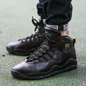 "Details about Nike AIR JORDAN 10 RETRO BG ""New York City"