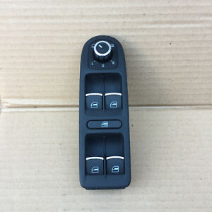 VW-GOLF-MK6-ELECTRIC-WINDOW-SWITCH-MIRROR-ADJUSTER-POWER-FOLDING-5K0867255A