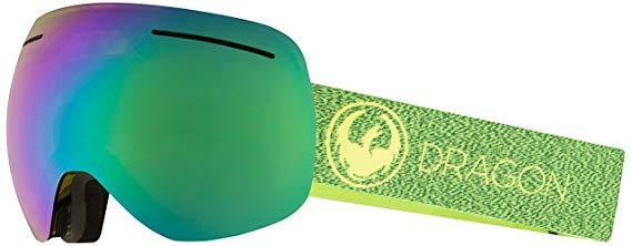 NEW Dragon  X1  SN-17063 Mill Lumalens Green Ion +1 Light Amber Snow Goggles