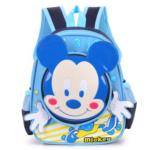 Kid Girls Boys Children Toddler School Bag Mickey Mouse Backpack Junior Rucksack
