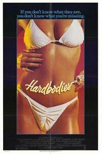 HARDBODIES-Movie-POSTER-27x40-Grant-Cramer-Teal-Roberts-Gary-Wood-Michael