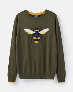 Joules-207484-Festive-Intarsia-Jumper-GREEN-BEE