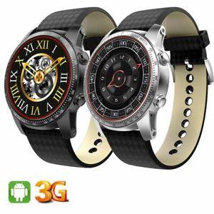 Männer Frauen 3G Smart Uhr Telefon WIFI GPS Uhr Sport Fitness Tracker Pulsmesser