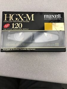 Maxell 8mm camcorder tape HGX-M NEW SEALED