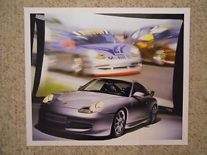 1975 Porsche 911 Coupe Showroom Advertising Sales Poster RARE! Awesome L@@K