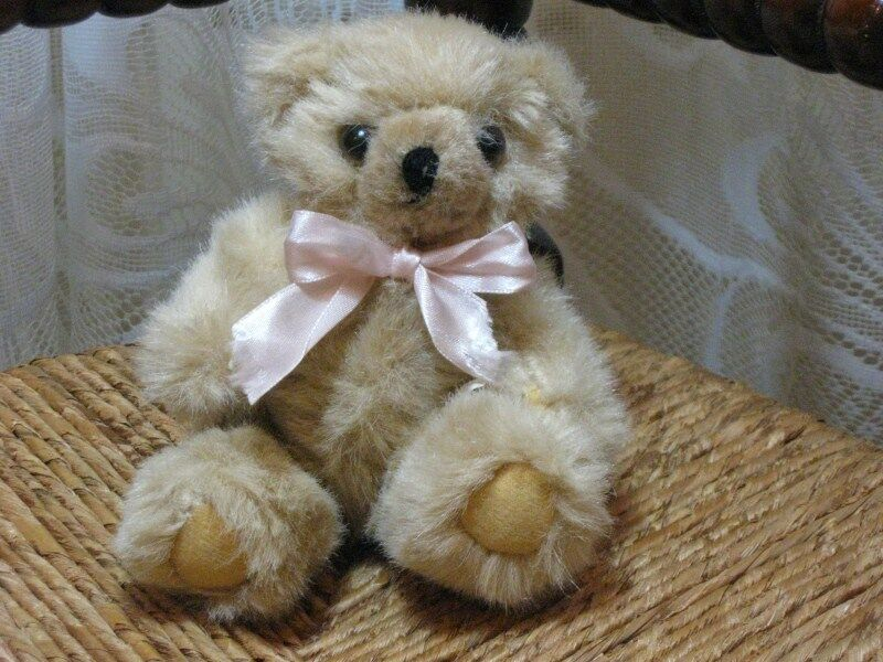 Old Vintage Miroin Bears Holland Mohair Teddy Bear Plush Rare