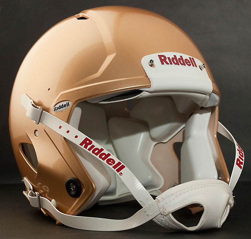 Riddell Revolution SPEED Classic Football Helmet (METALLIC SAN FRANCISCO gold)