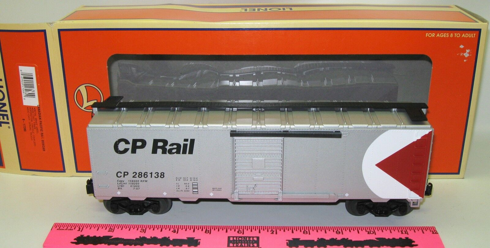 Lionel New 6-17260 Canadian Pacific Rail boxcar