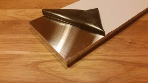 Plangefräste Platte Alu Aluminium 200 x 25 mm Gussplatte AlMg4,5Mn Aluplatte