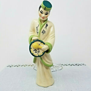 Ceramic-Arts-Studio-Asian-Musician-Figurine-Vintage-1950s-American-Art-Pottery