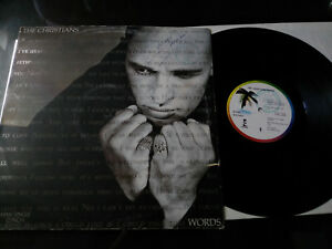 THE-CHRISTIANS-WORDS-1989-SPAIN-EDIT-G-G-MAXI-LP-12-034-VINILO-VINYL