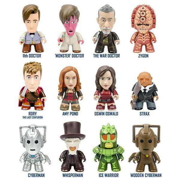 TITANS - BBC DOCTOR WHO - GERONIMO COLLECTION - FIGURINE SELECT