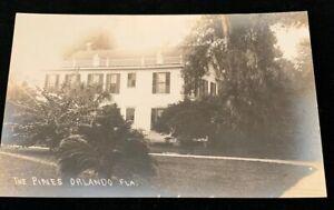 Florida-REAL-PHOTO-The-Pines-Orlando-Florida-Rare-Early-1900s-RPPC