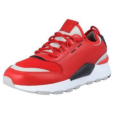 Pratico Puma Uomo Sneaker Scarpe Da Ginnastica Tempo Libero Scarpe Smorzamento Rs-0 Sound 366890 03 Rosso-mostra Il Titolo Originale Prima Qualità