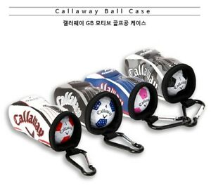 Callaway-Original-GB-Motif-Golf-Ball-Case-1PC-Portable-Holder-Accessory-Bag