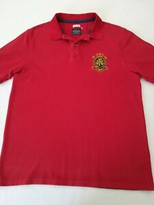 Men-039-s-JOULES-polo-shirt-XL-chest-42-short-sleeves-classic-fit-embroidered-logos