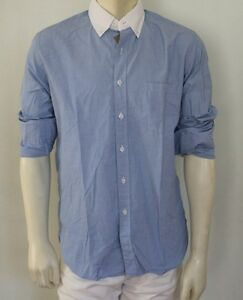 J CREW Men Secret Wash Slim White Collar Button Down Shirt NwT XS ...