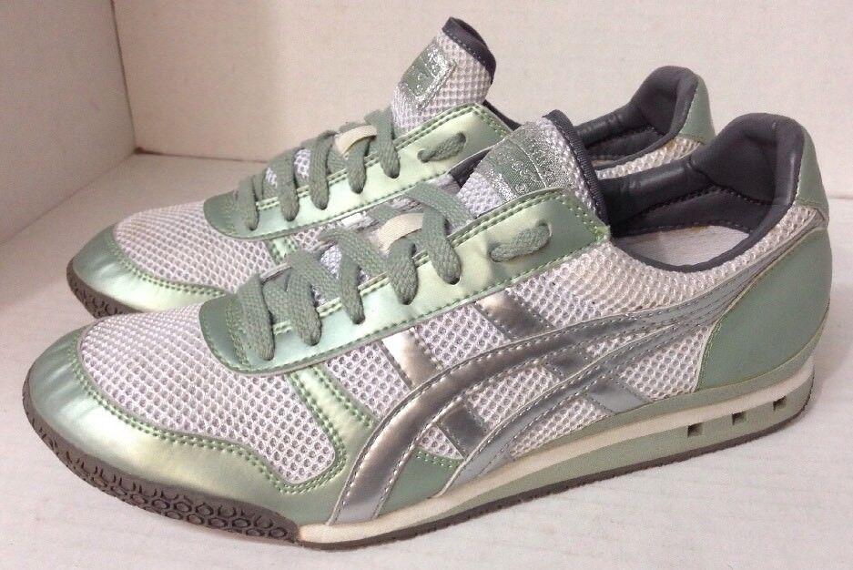 Asics Wmn 10 Eu 42 HN567 Onitsuka Tiger Ultimate 81 Metallic Mint Train Sneakers Wild casual shoes