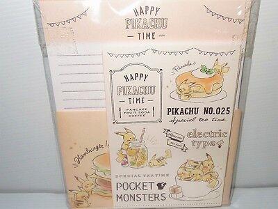 Pokemon Monsters Pikachu Full Letter Set