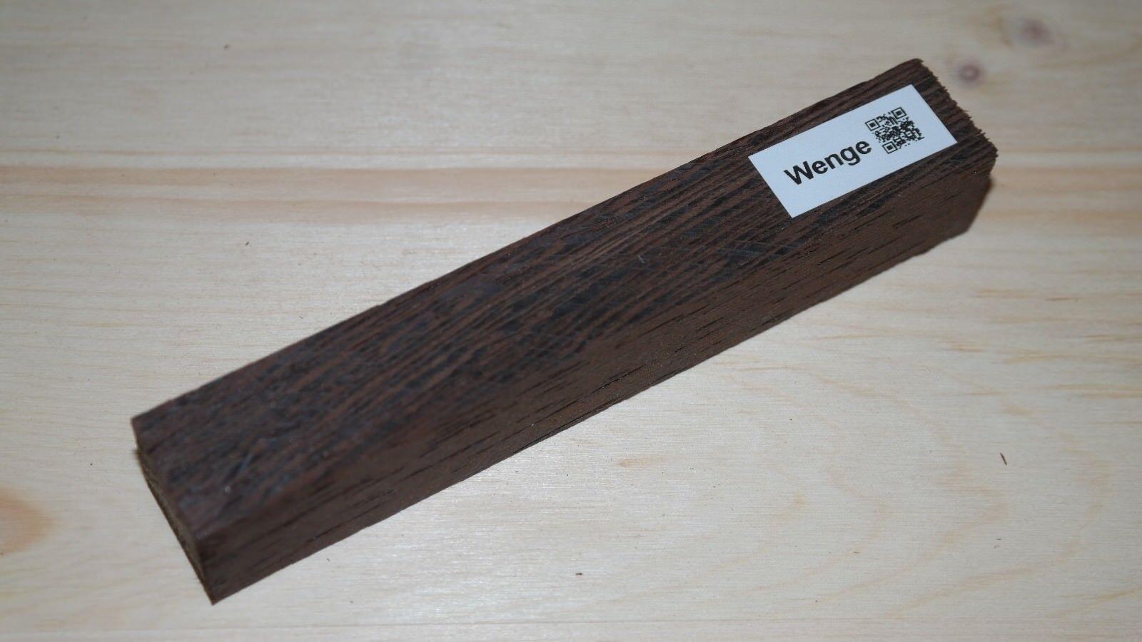 Woodturning Wenge Penblank Pen Noble Woodturning Wood Tonewood Jewelry Wood