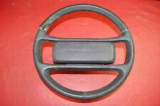 Porsche 911 930 964 Carrera Classic Steering Wheel 4 Spoke Brown Leather OEM