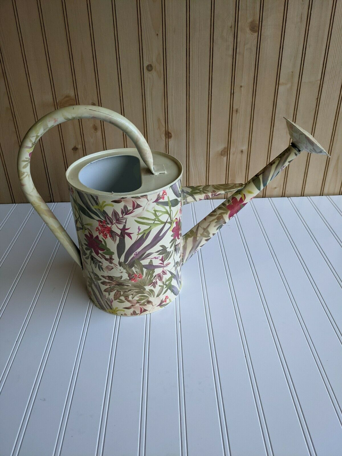 Stainless Steel Floral Watering Can