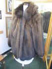 Fisher Fur Coat w/ Removable Hood L