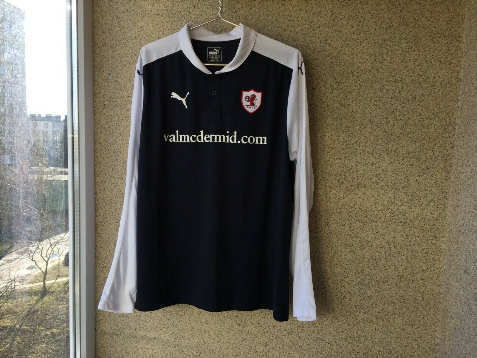 83391b3a0 Raith Rovers football shirt 2015 2016 JERSEY PUMA SOCCER SCOTLAND XL Home  nobkyb252-Men