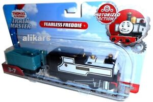 FREDDIE-FEARLESS-Trackmaster-Engine-Thomas-amp-Friends-Fisher-Price-Motorized-Tank