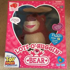 Disney Toy Story Talking Interactive Lots-O Huggin Bear Signature Collection New