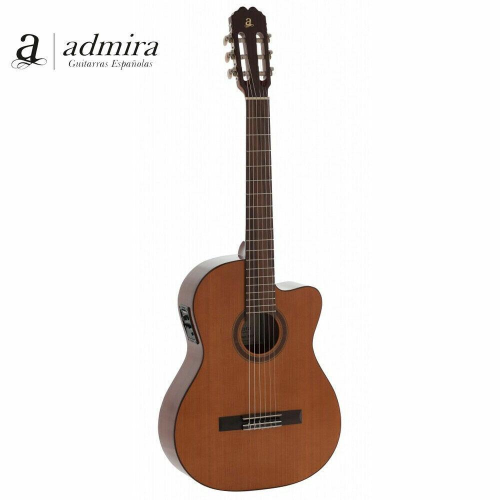 Admira MALAGA-ECF Cutaway Acoustic Electric Classical Nylon Guitar - Brand New