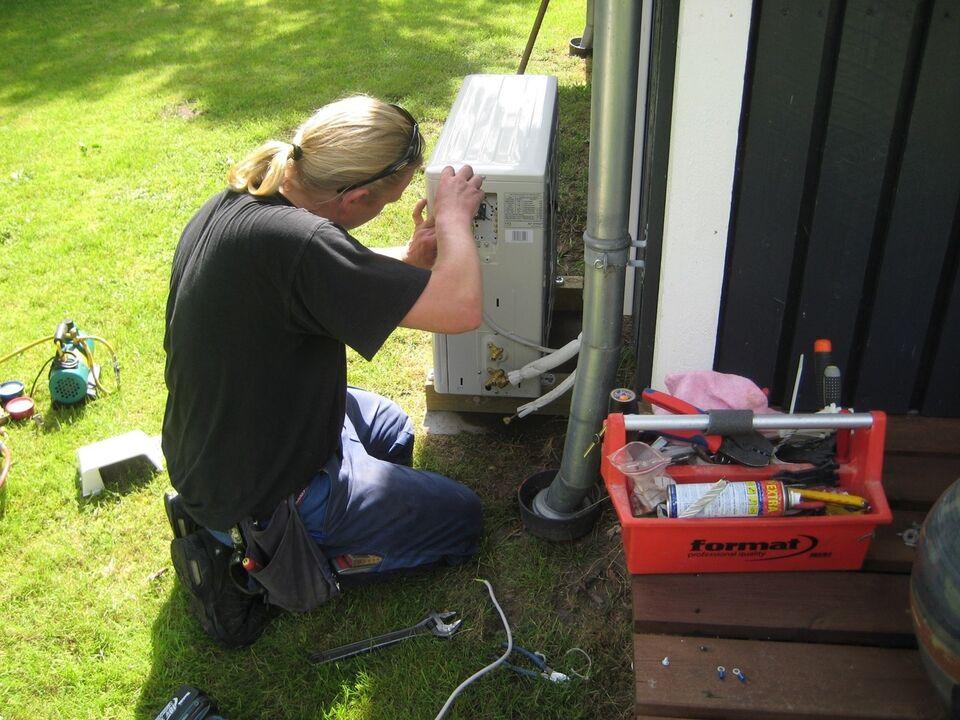 Varmepumpe, Service af varmepumpe