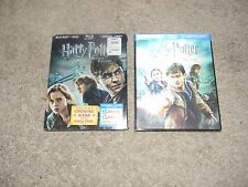 HARRY POTTER AND THE DEATHLY HALLOWS PART 1 & PART 2, BLUE-RAY