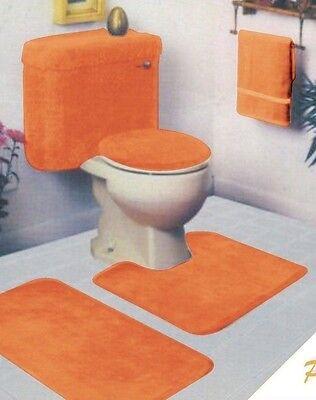 5 Piece Bathroom Rug Set