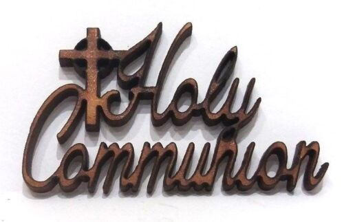 WOODEN HOLY COMMUNION SHAPES gift tag craft card make scrapbook embellishment