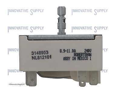 3148953 for Whirlpool Range Burner Infinite Control Switch PS336886  AP3029710 | eBay