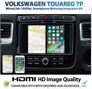 Details about Volkswagen Touareg RNS 850 Smartphone Integration for Android  and iPhone