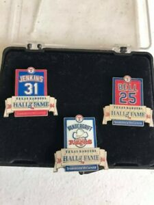Lot-of-Three-3-Texas-Rangers-Collector-039-s-Pins