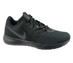 148233def492 Details about Mens NIKE VARSITY COMPLETE TRAINER Black Trainers AA7064 002