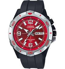 Casio Men's Black Resin Watch, Date, 100 Meter, Super Illuminator,  MTD1082-4AV