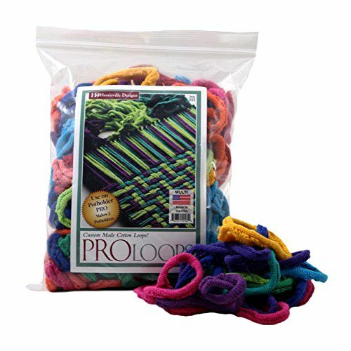 NEW a-Lotta Loops That Makes Potholders 100 % Cotton By Harrisville Designs