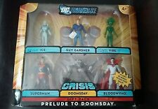 New 2009 DC Universe Infinite Heroes Crisis Gift Pack Prelude To Doomsday Figure