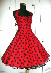 84c1efde0e4a96 Rock'n Roll 50er Jahre Stil Kleid Rockabilly Petticoat | eBay
